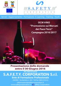 locandina OCM vino